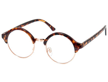 Coco (Tortoiseshell) Retro Reading Glasses