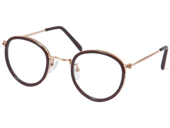 Sienna (Brown) Retro Reading Glasses