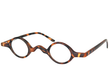 Hatton (Tortoiseshell) Retro Reading Glasses - Thumbnail Product Image