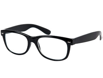 Charlie (Black) Retro Reading Glasses
