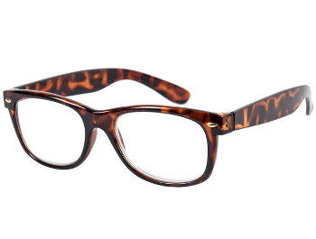 Charlie (Tortoiseshell) Retro Reading Glasses