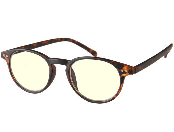 Click (Tortoiseshell) Screen Glasses Reading Glasses