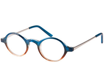 Elliott (Blue) Retro Reading Glasses