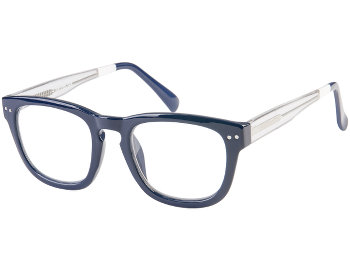 Graduate (Blue) Retro Reading Glasses
