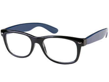 Charlie (Blue) Retro Reading Glasses