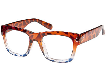 California (Tortoiseshell) Retro Reading Glasses