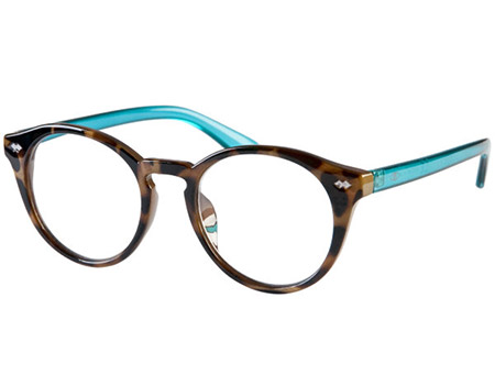 Elroy (Tortoiseshell) Retro Reading Glasses - Thumbnail Product Image