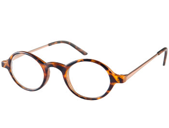 Elliott (Tortoiseshell) Retro Reading Glasses