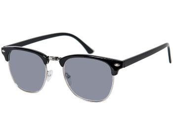 Brunswick (Black) Retro Sun Readers