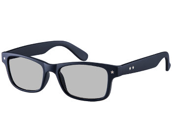 Lucca (Dark Navy) Retro Sun Readers - Thumbnail Product Image