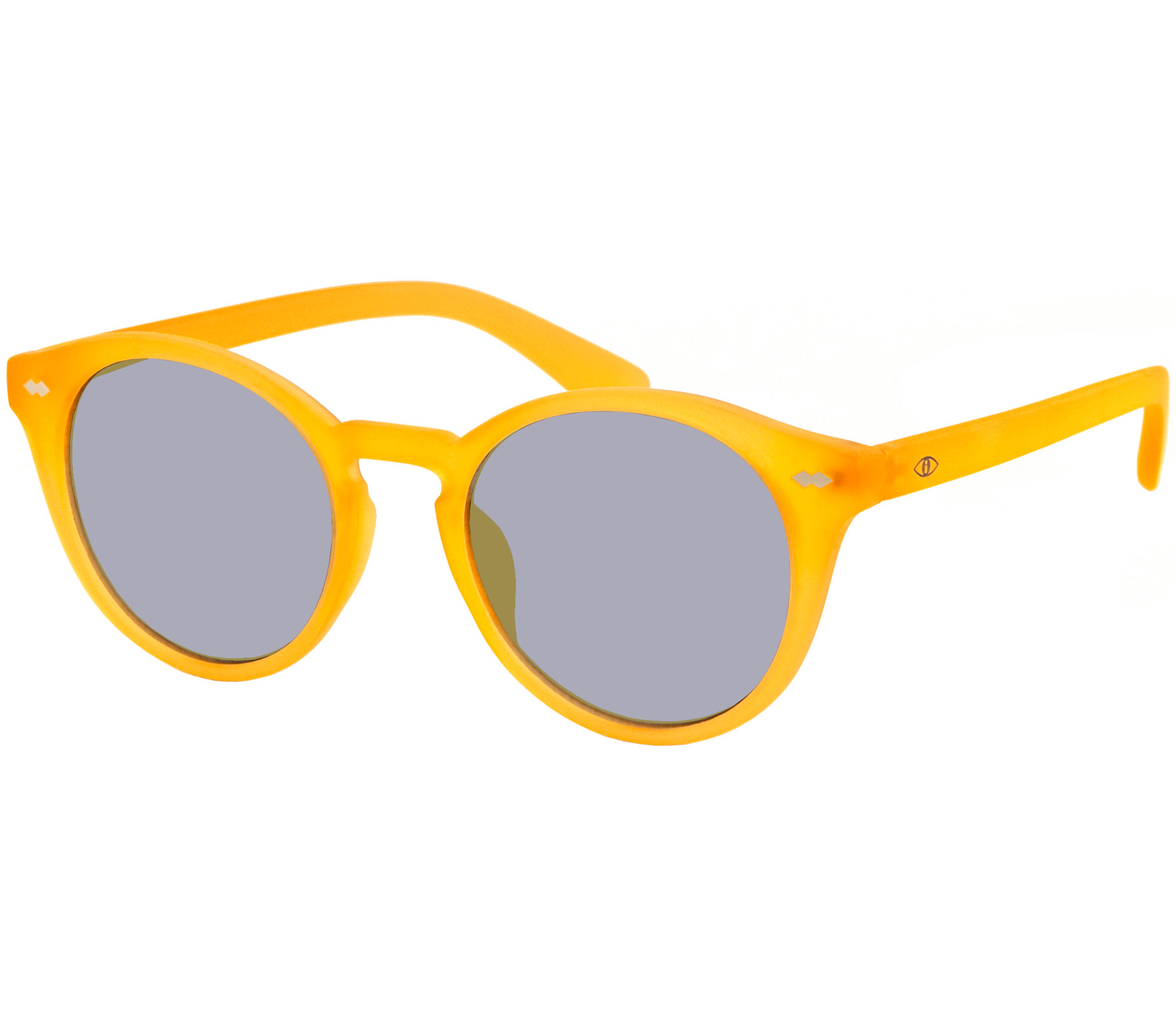 Main Image (Angle) - California (Yellow) Retro Sun Readers