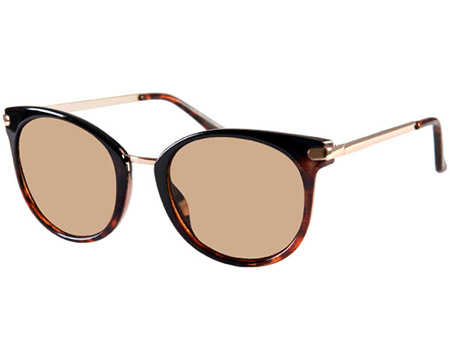 Vera (Two Tone) Retro Sunglasses - Thumbnail Product Image