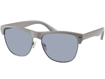 Horizon (Grey) Retro Sunglasses - Thumbnail Product Image