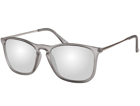 Toledo (Grey) Retro Sunglasses - Thumbnail Product Image