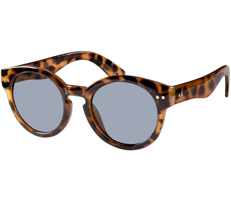 Main Image (Angle) - St Clair (Tortoiseshell) Retro Sunglasses