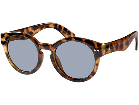 St Clair (Tortoiseshell) Retro Sunglasses - Thumbnail Product Image