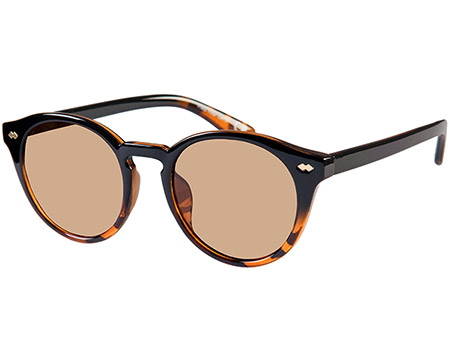 Lorenzo (Two Tone) Retro Sunglasses - Thumbnail Product Image