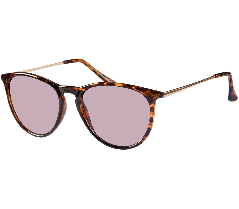 Main Image (Angle) - Paradise (Tortoiseshell) Retro Sunglasses