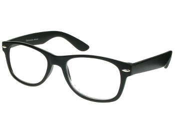 Billi (Black) Retro Reading Glasses