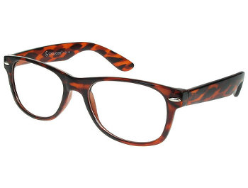 Billi (Tortoiseshell) Retro Reading Glasses