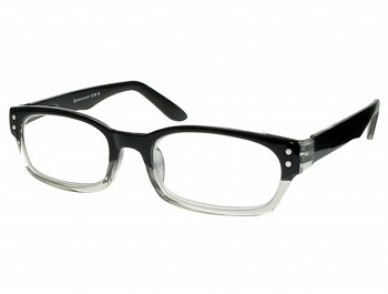Harvard (Black) Retro Reading Glasses