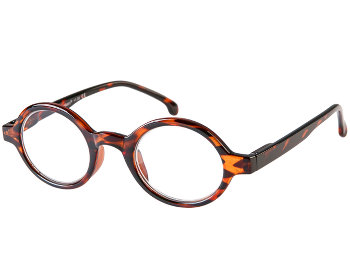 Kensington (Tortoiseshell) Retro Reading Glasses - Thumbnail Product Image