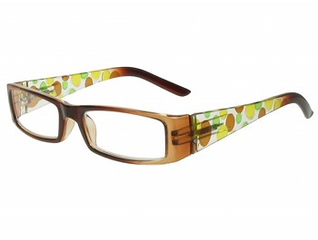 Fizzy (Brown) Fashion Reading Glasses