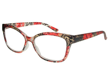 Kew (Red) Fashion Reading Glasses