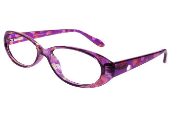 Dots (Purple) Fashion Reading Glasses