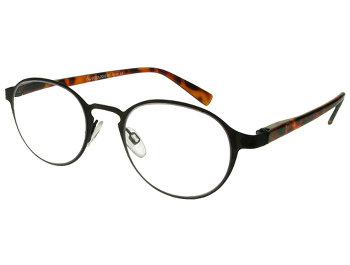 Canterbury (Black) Retro Reading Glasses
