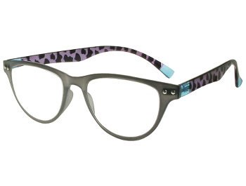 Tunis (Grey) Retro Reading Glasses