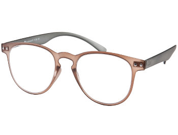 Kent (Brown) Retro Reading Glasses - Thumbnail Product Image