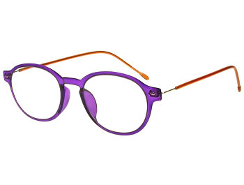 Weekend (Purple) Retro Reading Glasses