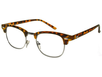 Bromley (Tortoiseshell) Retro Reading Glasses