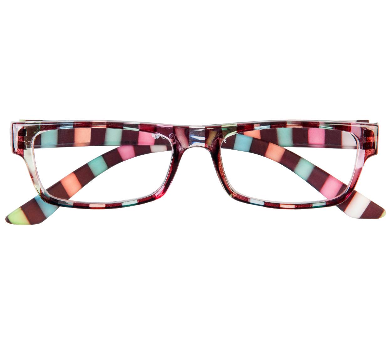allsorts multi coloured reading glasses tiger specs