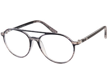 Boston (Grey) Retro Reading Glasses