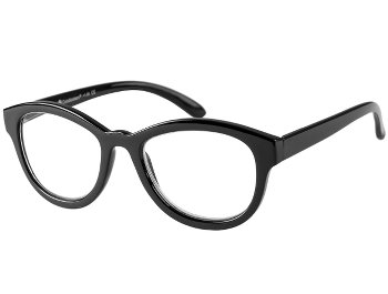 Charleston (Black) Retro Reading Glasses
