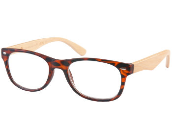 Bamboo (Tortoiseshell) Retro Reading Glasses