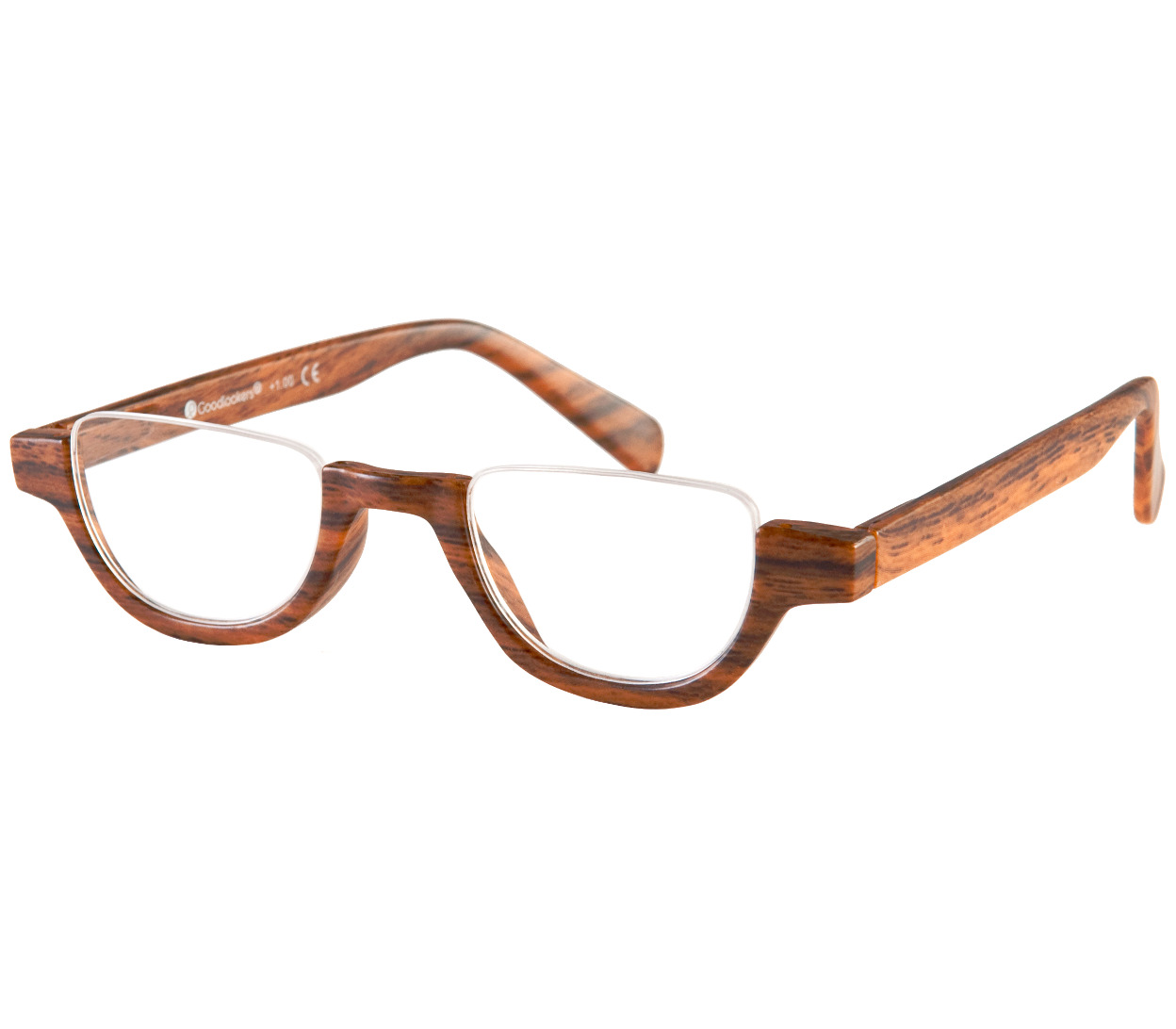 Fulham (Brown) Semi-rimless Reading Glasses