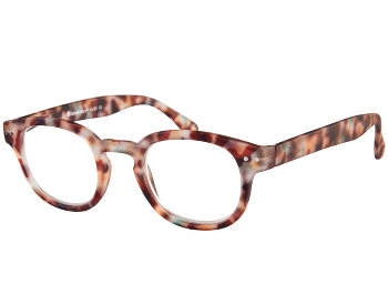 Greenwich (Multi Tortoise) Retro Reading Glasses