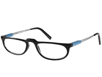 Lucky (Black) Retro Reading Glasses