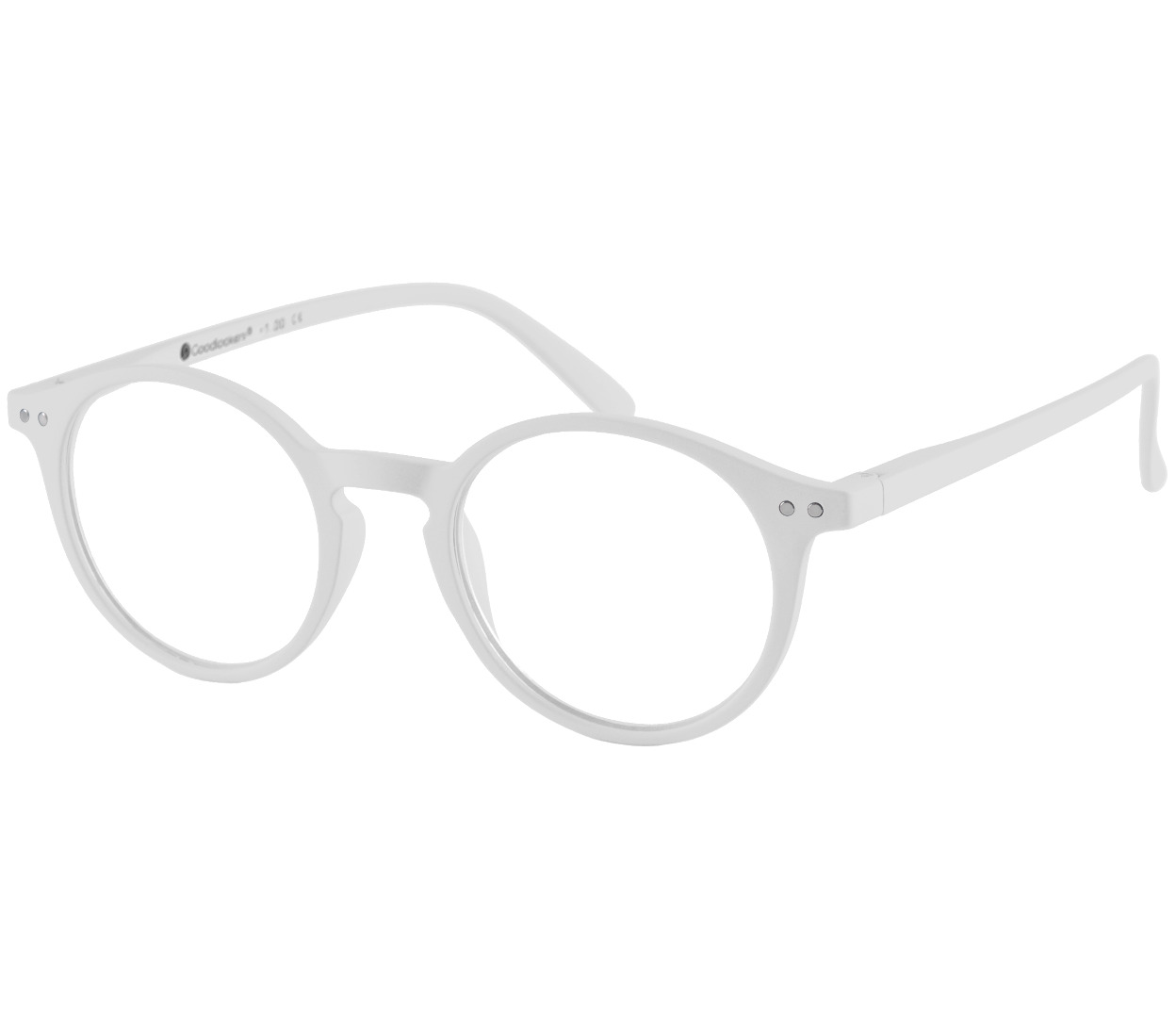 Sydney (White) Retro Reading Glasses