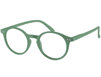 Sydney (Green) Retro Reading Glasses