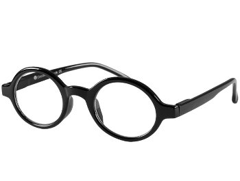 Kensington (Black) Retro Reading Glasses - Thumbnail Product Image
