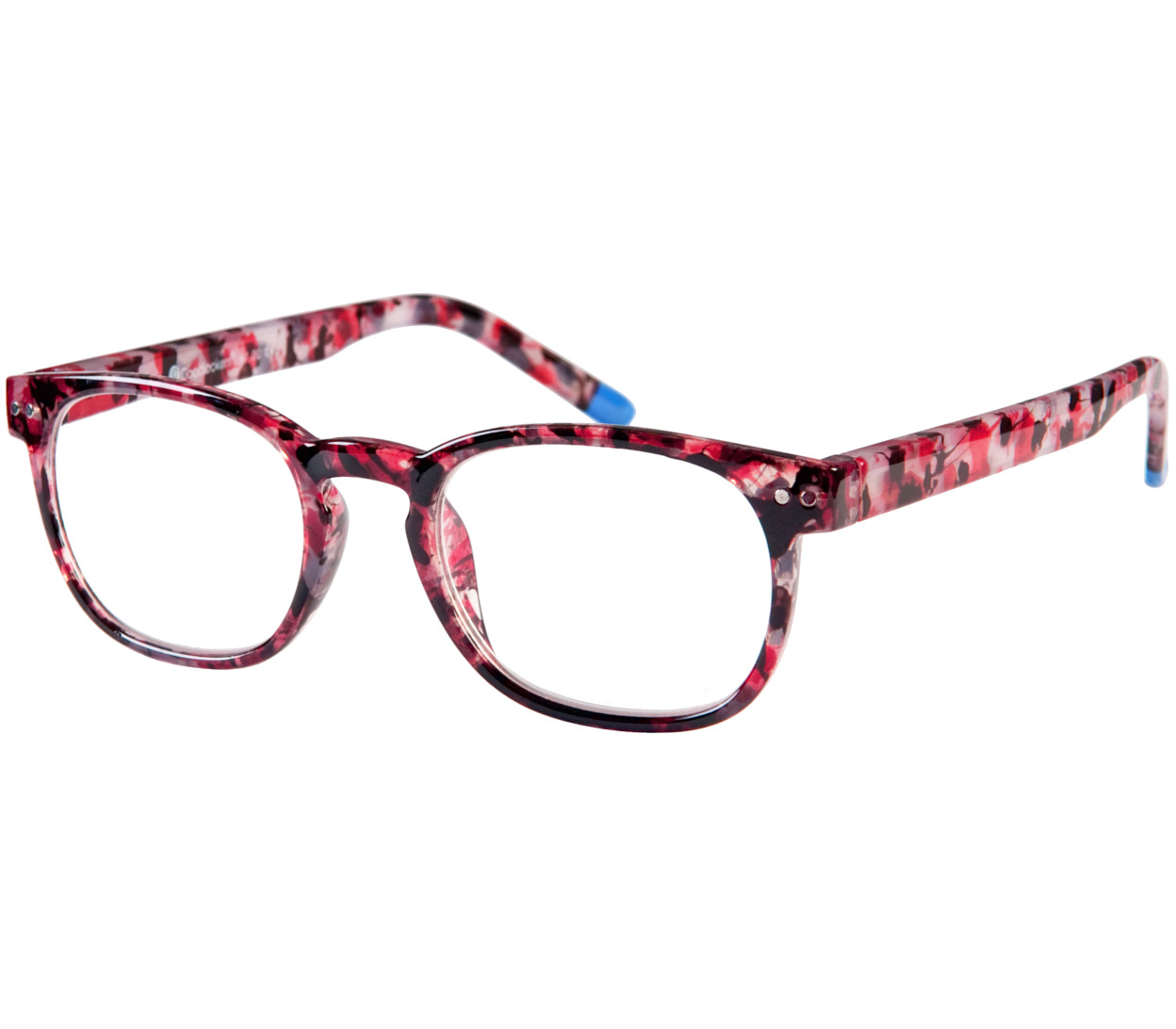 Main Image (Angle) - Edenbridge (Red) Fashion Reading Glasses