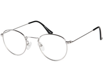 Washington (Silver) Retro Reading Glasses - Thumbnail Product Image