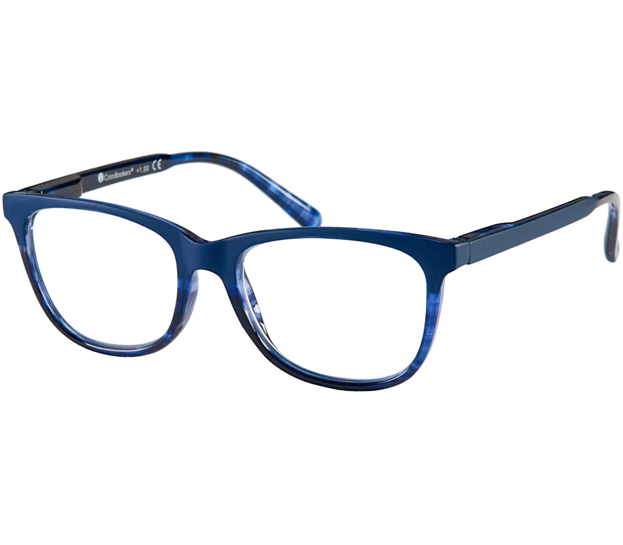 Main Image (Angle) - Grace (Blue) Fashion Reading Glasses