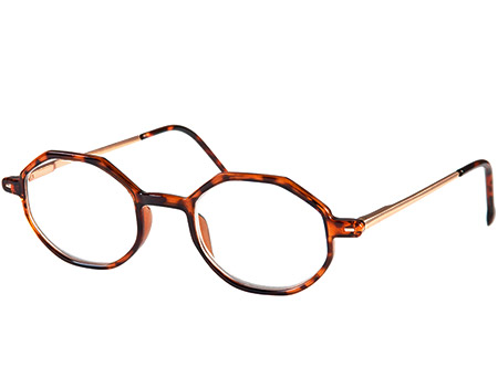 Pimlico (Tortoiseshell) Retro Reading Glasses - Thumbnail Product Image