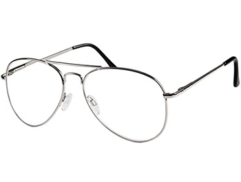 Bailey (Silver) Classic Reading Glasses - Thumbnail Product Image