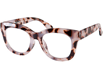 Encore (White Tortoise) Retro Reading Glasses - Thumbnail Product Image
